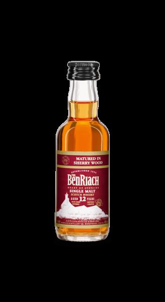BenRiach 12 Jahre Sherry Wood Speyside Single Malt Whisky