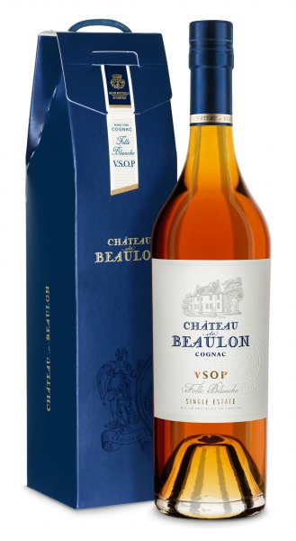 Chateau de Beaulon Cognac V.S.O.P 7 Jahre mit Geschenkbox