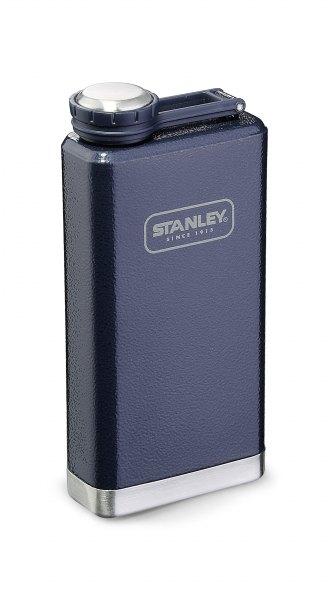 Taschenflasche Stanley Big Steel Flask dunkelblau 236 ml