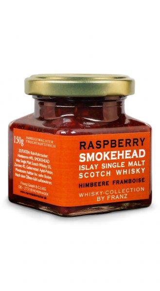 Himbeere & Smokehead Islay Single Malt Whisky Fruchtaufstrich