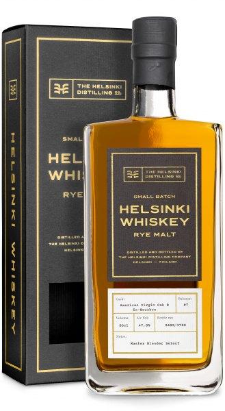 Helsinki Rye Malt Whiskey #7 American Virgin Oak & Ex-Bourbon Master Blender Select