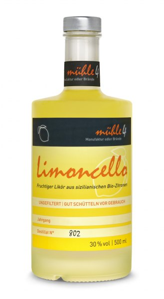 mühle4 Limoncello Zitronenlikör