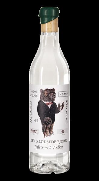 Den Klodsede Bjorn Ufiltreret Vodka