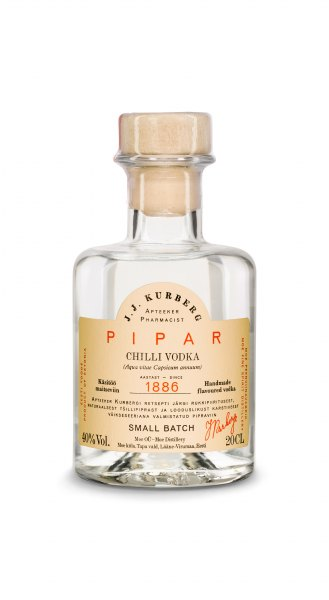 J. J. Kurberg Pipar Chili Flavored Vodka (Bio)