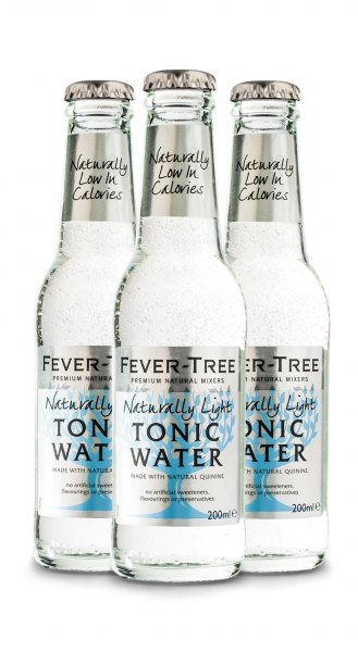 Fever-Tree Naturally Light Tonic Water (3 x 0,2 l)