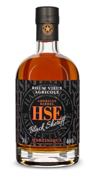 Saint-Etienne HSE Rhum Agricole Vieux Black Sheriff American Barrel