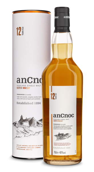 AnCnoc 12 Jahre Highland Single Malt Whisky