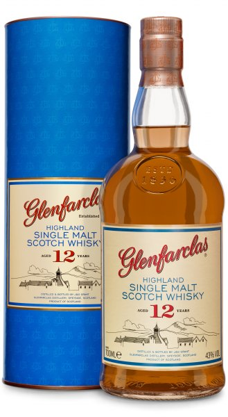 Glenfarclas 12 Jahre Highland Single Malt Whisky