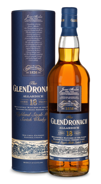 GlenDronach 18 Jahre Allardice Highland Single Malt Whisky