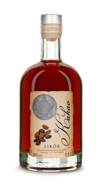 Kakao-Likör Preußische Spirituosen Manufaktur