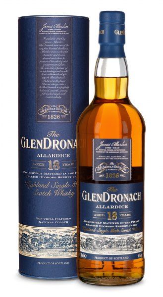 GlenDronach 18 Jahre Allardice Highland Single Malt Whisky 2015