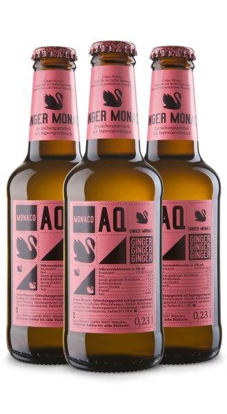 Ginger Monaco Ginger Ale (3 x 0,23 l)