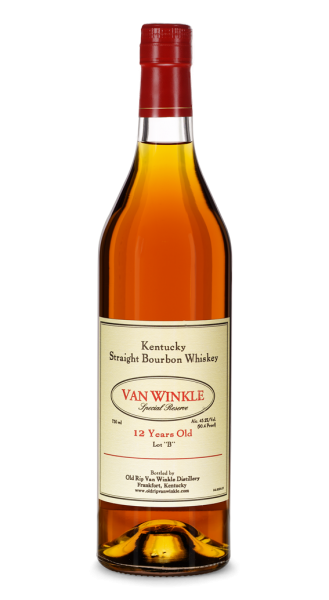 "Old Rip Van Winkle 12 Jahre Special Reserve Kentucky Straight Bourbon Whiskey Lot ""B"""