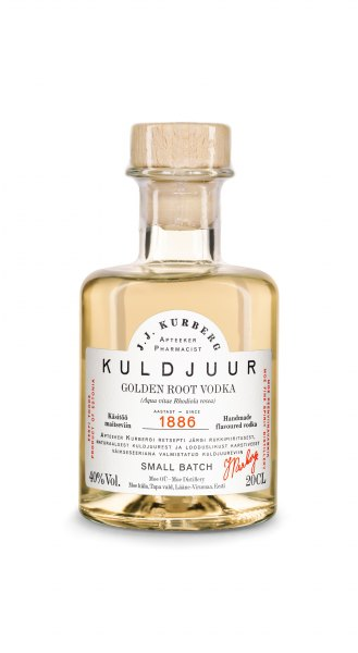 J. J. Kurberg Golden Root Flavored Vodka