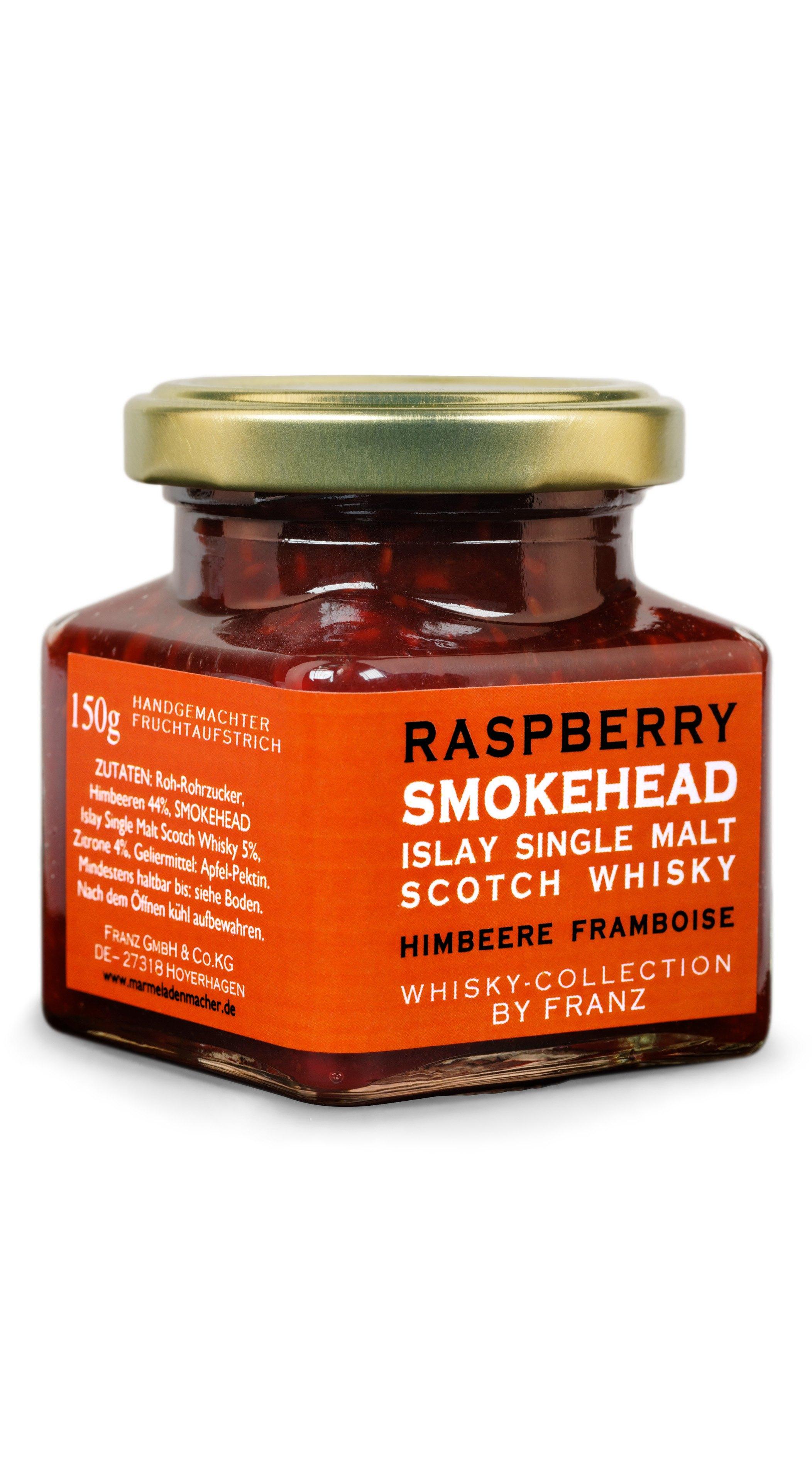 Himbeere Smokehead Whiskymarmelade 150 G Fur 5 90 Kaufen Bei Dr