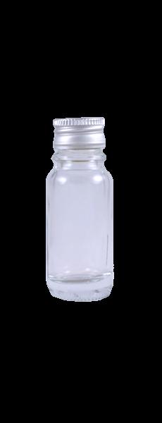 Miniflasche 10 ml mit Schraubverschluss