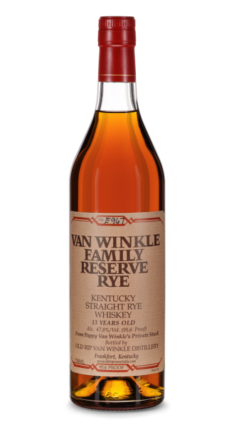 Old Rip Van Winkle 13 Jahre Family Reserve Kentucky Straight Rye Whiskey