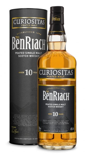 BenRiach 10 Jahre Curiositas Speyside Single Malt Whisky