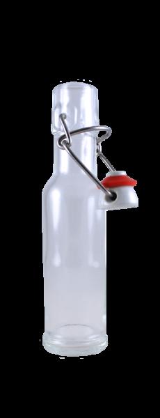 Bügelflasche 100 ml mit Bügelverschluss