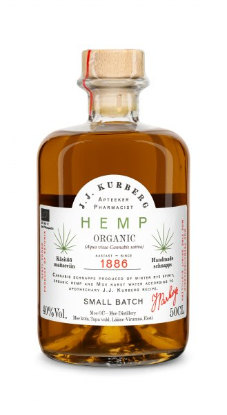 J. J. Kurberg Hemp Flavored Vodka (Bio)