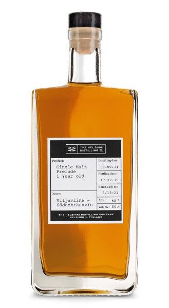 Helsinki Distilling Company Single Malt Prelude 1 Jahr