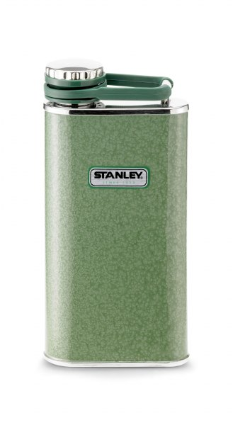 Taschenflasche Stanley The Classic Wide Mouth Flask olivgrün 236 ml