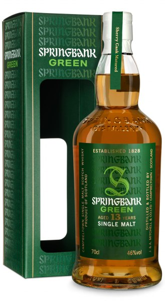 Springbank Green 13 Jahre Campbeltown Single Malt Whisky Limited Edition