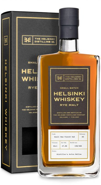 Helsinki Rye Malt Whiskey #3 Distiller's Extra Mellow Small New French Oak Cask