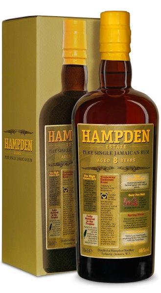 Hampden 8 Jahre Pure Single Jamaican Rum