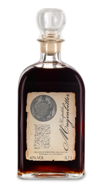 Kurfürstlicher Magenbitter Preußische Spirituosen Manufaktur