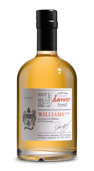 Danner Williams-Birnenbrand Gold mit Fruchtauszug