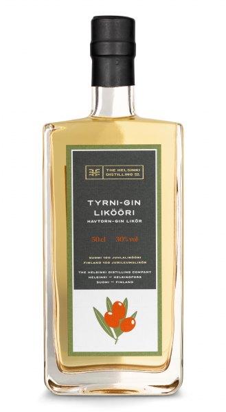 Helsinki Tyrni-Gin Likööri Sanddorn-Gin-Likör