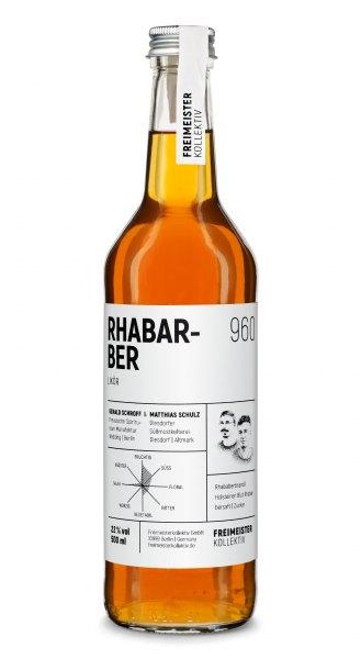Freimeisterkollektiv Rhabarber Likör