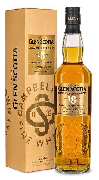 Glen Scotia 18 Jahre Single Malt Whisky