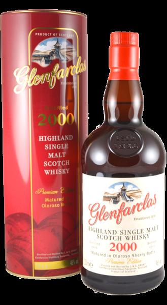 Glenfarclas Vintage 2000 Limited Edition 13 Jahre Highland Single Malt Whisky