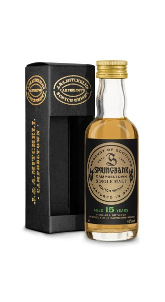 Springbank 15 Jahre Campbeltown Single Malt Whisky