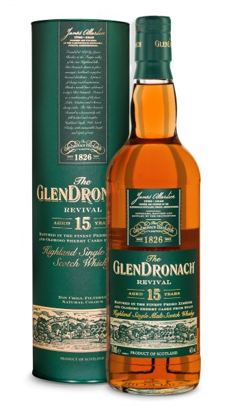 GlenDronach 15 Jahre Revival Highland Single Malt Whisky (2019)