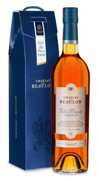 Chateau de Beaulon Cognac V.S.O.P 7 Jahre (mit Geschenkbox)
