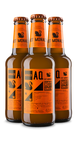 Hot Monaco Ginger Beer (3 x 0,23 l)