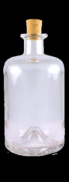 Apothekerflasche 500 ml mit Spitzkorken