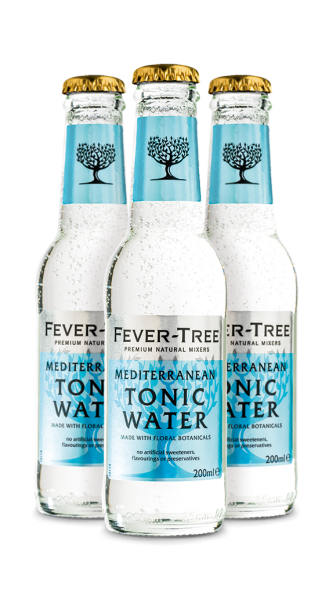 Fever-Tree Mediterranean Tonic Water (3 x 0,2 l)