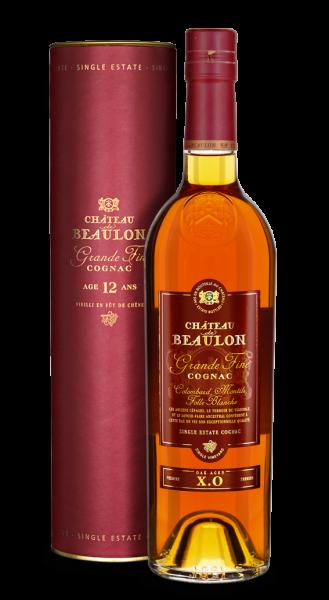 Chateau de Beaulon Cognac X.O 12 Jahre (mit Geschenkbox)