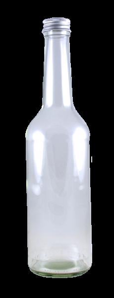 Geradhalsflasche 500 ml mit Schraubverschluss