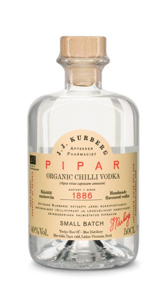 J. J. Kurberg Chili Flavored Vodka (Bio)