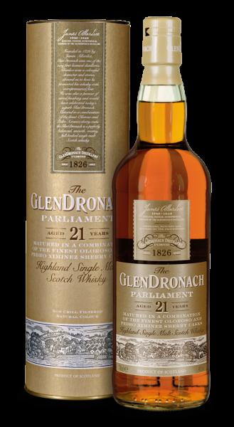 GlenDronach 21 Jahre Parliament Highland Single Malt Whisky