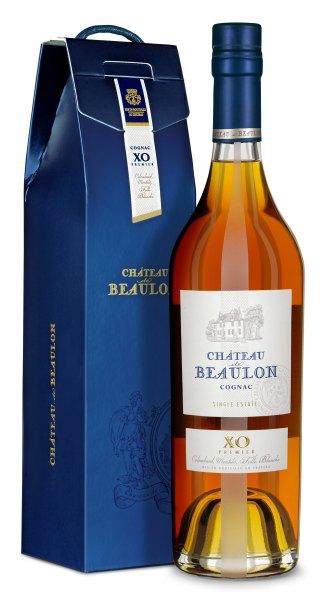 Chateau de Beaulon Cognac X.O 12 Jahre mit Geschenkbox